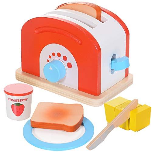 teiliges Kinder Spielzeug Set aus Holz mit vielen Funktionen Spielzeugküche Zubehör ()