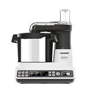 Kenwood KCook Multi CCL401WH - Robot de Cocina, 1500 W, Hasta 180ªC Temperatura, Capacidad 7.2 L, Incluye Bol 4.5 L, 6 Programas Predefinidos, Set Accesorios Incluidos, Fácil Uso