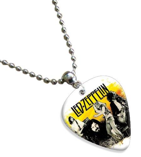 Led Zeppelin Double Sided Guitar Plektrum Plektron Pick Chain, Kette (Picks Zeppelin Led Guitar)
