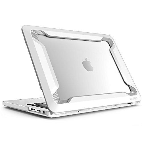 i-Blason – Coque Fine clipsable Robuste caoutchoutée Double épaisseur avec Protection Anti-Choc TPU pour Macbook Pro 13 Pouces 2016 2017 2018 2019