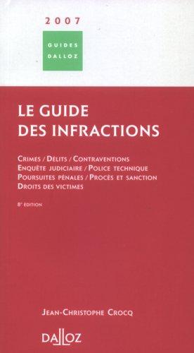 Le guide des infractions
