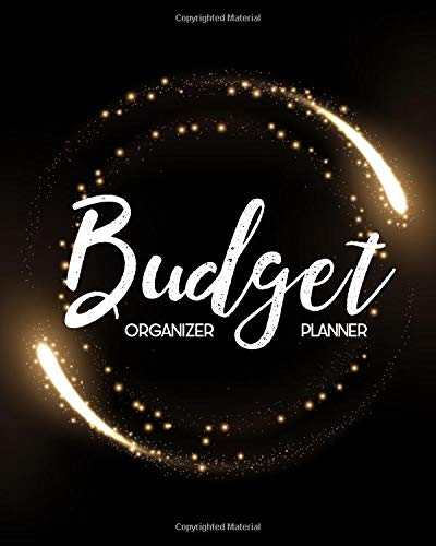 Budget Planner Organizer: Round Gold Rings 12 Month Budget Planner Journal Finance Planner, Money Organizer, Debt Tracker por Maggie C. Harrington