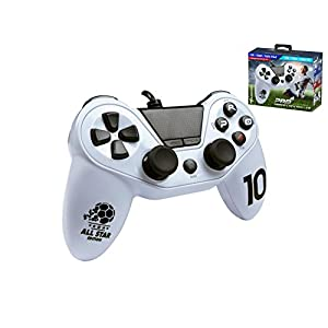 Subsonic SA5486-3 Controller für Playstation 4/Playstation 3/PC/Pro4 Fußball Weiß
