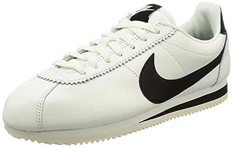 NIKE Herren Schuhe Classic Cortez Leather SE 861535-104 schwarz US 10,5