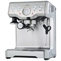 Solis Grind & Infuse Pro Independiente Manual Máquina espresso Acero inoxidable - Cafetera (Independiente,