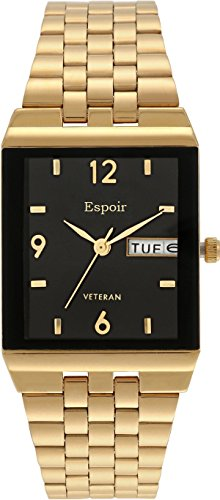 Espoir Analogue Black Dial Men'S Watch - 1918Ym14