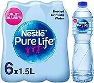 مياه بيور لايف من نستله، 6 قطع، سعة 1.5 لتر