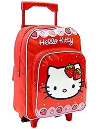 Hello Kitty AR640  - mochila carro capacidad 34 x 13 x 30 cm mochila infantil 44 cm , multicolor