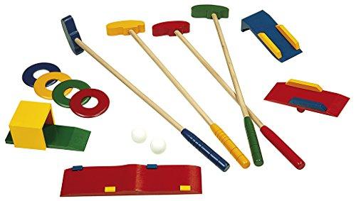 Wooden Game Crazy Golf | Mini-Golf Set | Aus Holz
