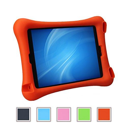 NEWSTYLE Apple iPad Air 2 Kinderfreundliche Silikon Hülle Schutzhülle Tasche Case für iPad Air 2 / iPad 6 (9,7 Zoll) (orange)