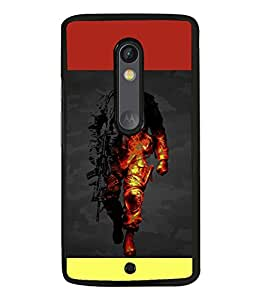 printtech Battlefield Game View Back Case Cover for Motoroal Moto X Play