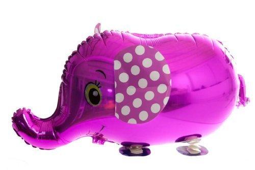 Rosa Elefant Tiere Wanderschuhe Ballon-partei Folienballons Walking Balloon Animals