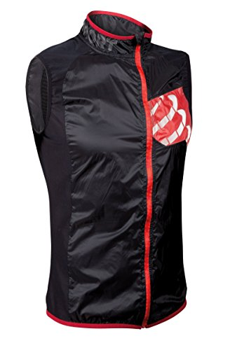 TRAIL HURRICANE VEST BLACK GILET ANTIVENTO TRASPIRANTE M