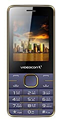 Videocon Bazoomba V2GA Dual SIM Feature Phone (Golden Violet)