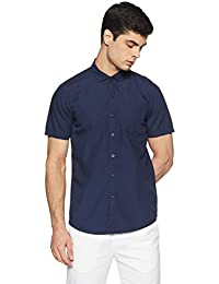 Lee Men's Solid Slim Fit Casual Shirt
