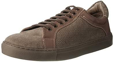 Ruosh Men's Tan/Light Brown Leather Sneakers - 7 UK/India (41 EU) (PUBLICO7A)
