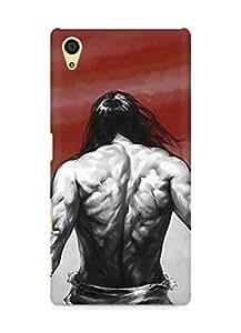 Amez designer printed 3d premium high quality back case cover for Sony Xperia Z5 (Hi No Maru)