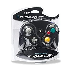 CirKa Wired Controller for Gamecube/Wii (Black)