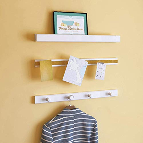 Mantel Hut Rack Kleiderbügel Rack Foto Rahmen Foto Aufkleber Regal Wandbehang Dekorative Rahmen Schindel (Farbe : -, Größe : -) ()