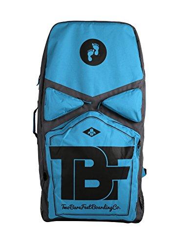 Two Bare Feet Hochwertige Tragetasche für 3 Bodyboards, Herren, Premium Blue