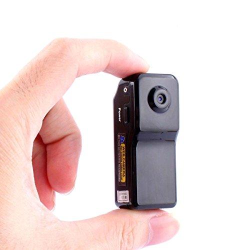 Wifi P2P Kamera, Mini IP Camera, Portable Kamera im Freien Innen drahtlose Video Camcorder Cam Netzwerkkamera Autokamera Fahrradkamera Haus Sicherheit f¨¹r Pflege fr¨¹hen Pflege Remote-Ansicht MD81S