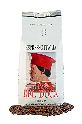 Del Duca Espresso Italia - Italienische Espresso Bohnen, 1er Pack (1 x 1 kg)