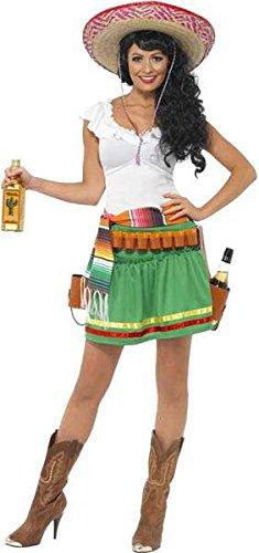 tequila shooter mexikanisches Muster Kostüm Gr. (Kostüm Mexicaine)
