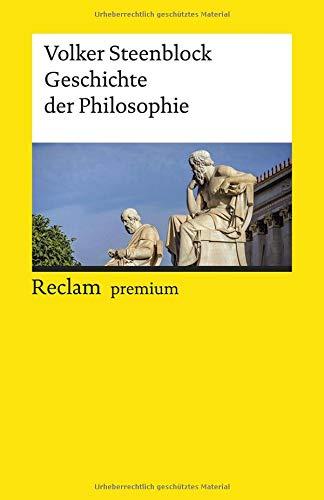 Geschichte der Philosophie (Reclams Universal-Bibliothek)