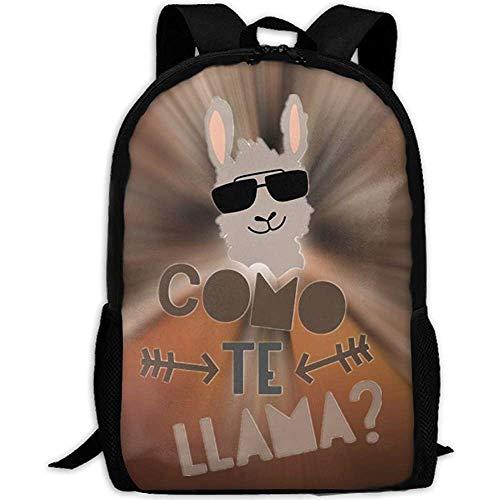 Schultasche,Como Te Llama Awsome Kinderrucksäcke Für Sportliches Wandern Athletisch