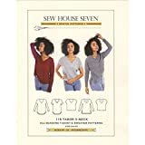 Best Tools Supply V Neck T Shirts - Sew House Seven SHS115 Tabor V Neck Pattern Review