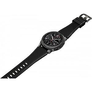 """Samsung Gear S3 Frontier - Smartwatch DE 1.3"""" (Bluetooth, GPS) Color Negro [Versión importada: Podría presentar Problemas de compatibilidad]"""