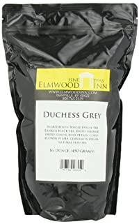 Elmwood Inn Fine Teas, Duchess Grey Black Tea, 16-Ounce Pouch