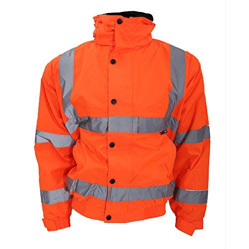warrior-memphis-veste-bomber-haute-visibilite-homme-3xl-orange-fluo