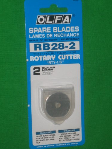 Rotary Blade Refills-28mm 2/Pkg