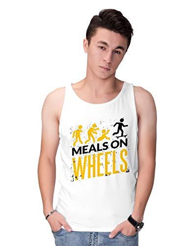 BLAK TEE Herren Halloween Meals on Wheels Tank Top XXL