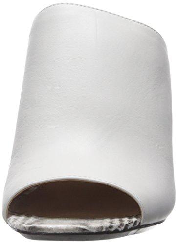 Calvin Klein Cice Femmes Synthétique Sandale Platinum White