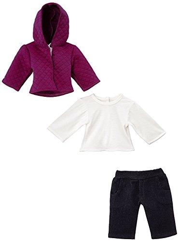 Preisvergleich Produktbild Fashionette–xbbpan5–Kleidung für Puppe und Babypuppe–Kleidung Set–Look 5–42cm