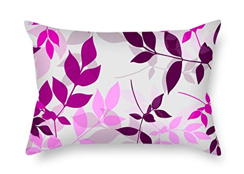 beautifulseason Christmas Pillow Cases of Leaf 16 X 24 Inches/40 by 60 Cm Best Fit for Car Seat GF Drawing Room Boys Home Office Car Double Sides