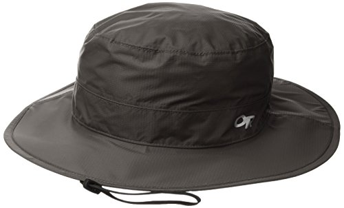 Outdoor Research Cloud Forest Regenhut, Damen Unisex, Cloud Forest Rain Hat, anthrazit, L-