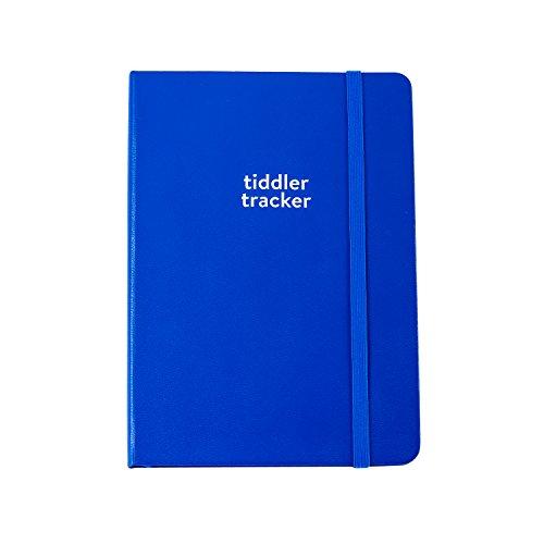 Tiddler Tracker–Agenda diario per annotare orari per allattare, cambiare pannolino  B6 Royal Blue
