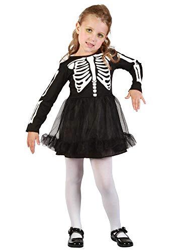 Mr.Giggelz Kinderkostüm - Skelett Mädchen