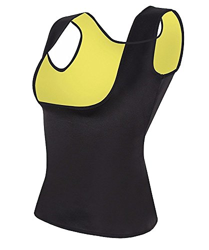 Sattaj Creations Plus Dimensioni neoprene sudore La perdita di peso sauna Hot Body Shapers gilet vita Trainer dimagrante shapewear waist Shaper Corset Yellow