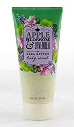 Apple Blossom and Lavender Shea Butter Body Scrub 6oz