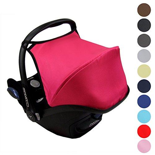 Preisvergleich Produktbild Babys-Dreams Sonnenverdeck UV50+ für Maxi-Cosi Cabriofix ** 3 FARBEN ** Sonnendach Babyschale Autositz Maxi Cosi (Braun)