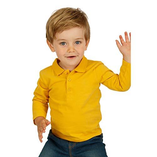 Top Top Baby-Jungen carrake Poloshirt, Gelb (Amarillo 240), 68 (Herstellergröße: 6-9)
