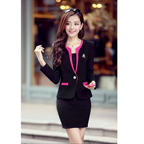 Yinxiang Liying Damen reizvoller dünner Geschäfts Anzug Röcke Kleid ...