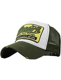 Firally Unisex Casuali Berretto Estivo Ricamato Maglia Cappelli Hip Hop  Baseball Caps Classic Cappello Cappelli con 01147a52bf73