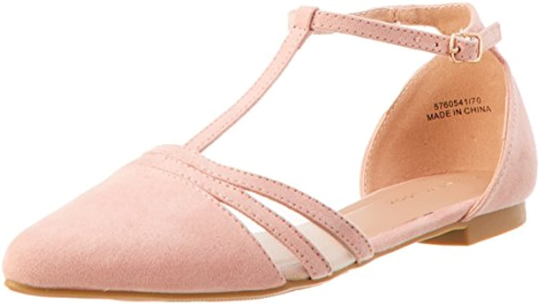 New Look Damen Jesh Geschlossene Sandalen 2018 Letztes Modell  Mode Schuhe Billig Online-Verkauf