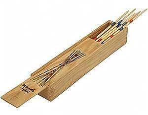 Logitoys - Jeu de société pour enfants - Mikado en bois - 26 centimètres