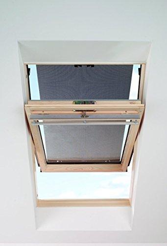 fenster markise ITZALA Hitzeschutz-Markise für VELUX In Schwarz Dachfenster Rollo Sonnenschutz - 4260